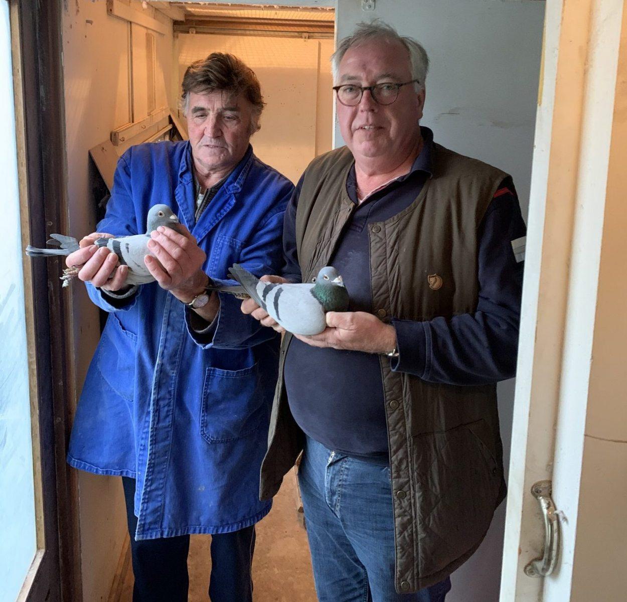 Douwe en Peter Soepboer uit Burgum, Friesland